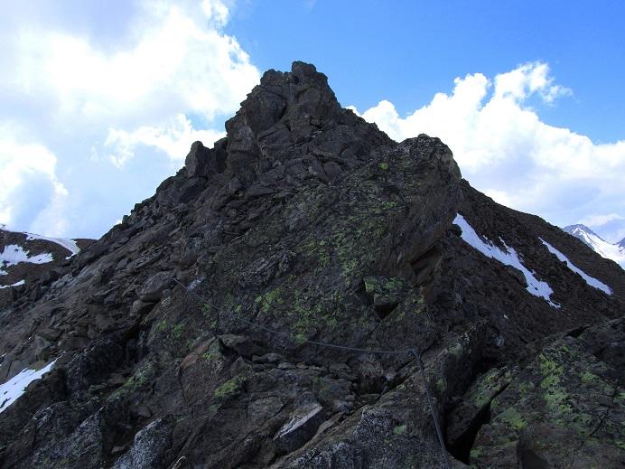 Foto: Andreas Koller / Klettersteigtour / Klettersteig Graue Wand (3202m) / 23.12.2013 02:57:16