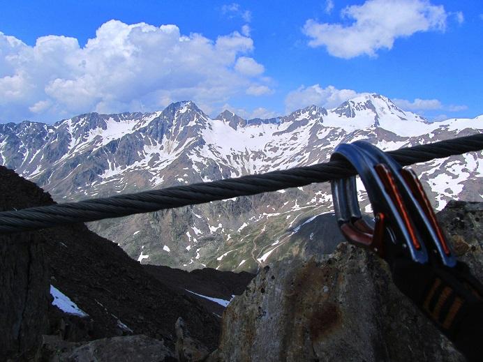 Foto: Andreas Koller / Klettersteigtour / Klettersteig Graue Wand (3202m) / 23.12.2013 02:56:52