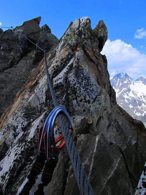 Foto: Andreas Koller / Klettersteigtour / Klettersteig Graue Wand (3202m) / 23.12.2013 02:56:43