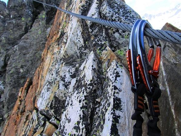 Foto: Andreas Koller / Klettersteigtour / Klettersteig Graue Wand (3202m) / 23.12.2013 02:56:33
