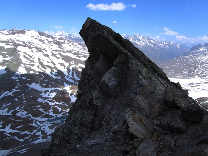 Foto: Andreas Koller / Klettersteigtour / Klettersteig Graue Wand (3202m) / 23.12.2013 02:56:25