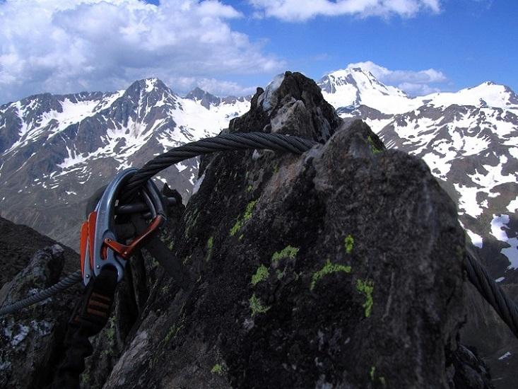 Foto: Andreas Koller / Klettersteigtour / Klettersteig Graue Wand (3202m) / 23.12.2013 02:55:56