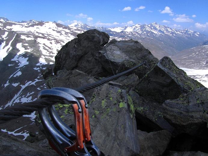 Foto: Andreas Koller / Klettersteigtour / Klettersteig Graue Wand (3202m) / 23.12.2013 02:55:50