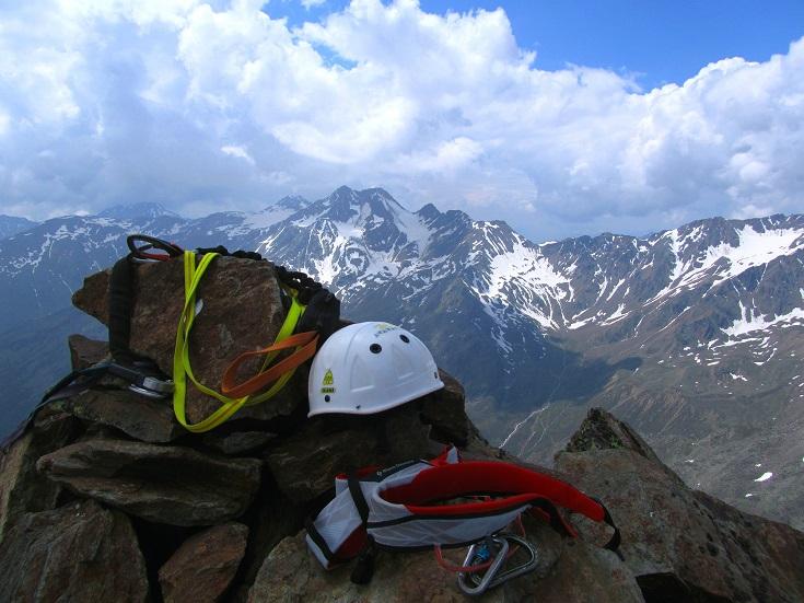 Foto: Andreas Koller / Klettersteigtour / Klettersteig Graue Wand (3202m) / 23.12.2013 02:55:00