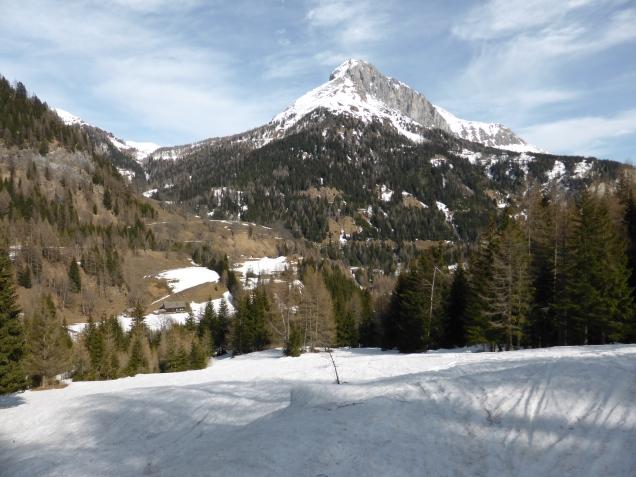 Foto: Manfred Karl / Skitour / Seeköpfl von Wald im Zederhaustal / Zwillingwand / 19.03.2014 19:54:05