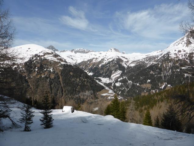 Foto: Manfred Karl / Skitour / Seeköpfl von Wald im Zederhaustal / Großkesselumrahmung / 19.03.2014 19:53:10