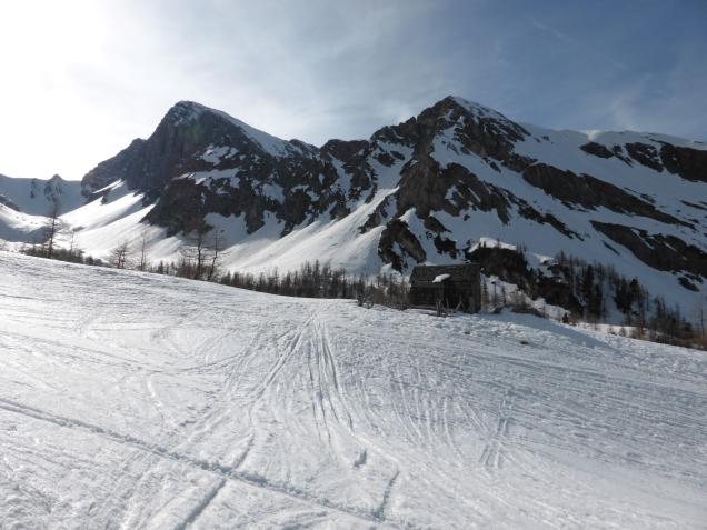 Foto: Manfred Karl / Skitour / Seeköpfl von Wald im Zederhaustal / Bei der Jagdhütte / 19.03.2014 19:52:20