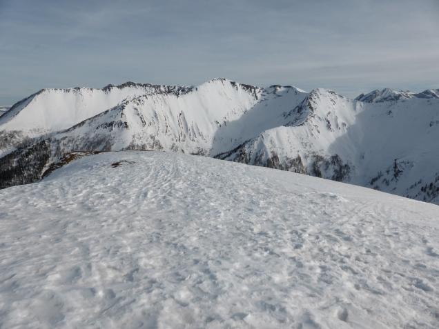 Foto: Manfred Karl / Skitour / Seeköpfl von Wald im Zederhaustal / Gipfel über dem Nahendfeldtal / 19.03.2014 19:50:23