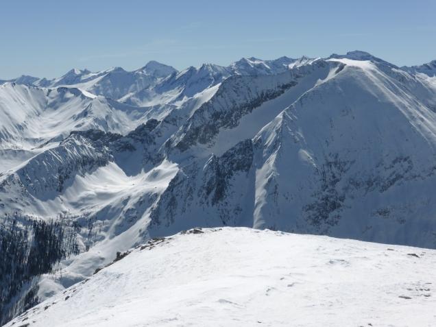 Foto: Manfred Karl / Skitour / Windischkopf über das Gruberkar / Weißeck / 24.03.2014 20:12:25