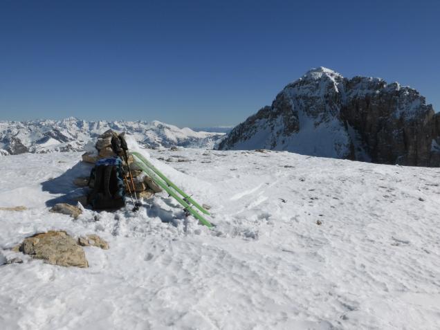 Foto: Manfred Karl / Skitour / Windischkopf über das Gruberkar / Mosermandl / 24.03.2014 20:12:11