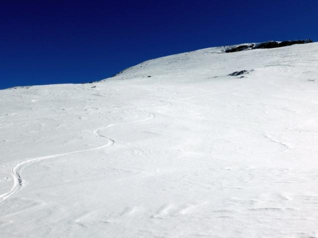 Foto: Manfred Karl / Skitour / Windischkopf über das Gruberkar / Gipfelhang / 24.03.2014 20:11:55
