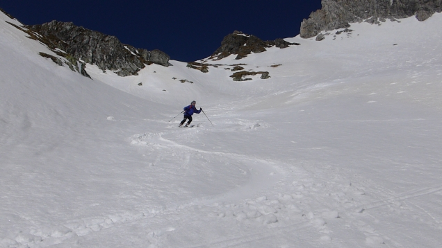 Foto: Manfred Karl / Skitour / Windischkopf über das Gruberkar / 24.03.2014 20:11:25