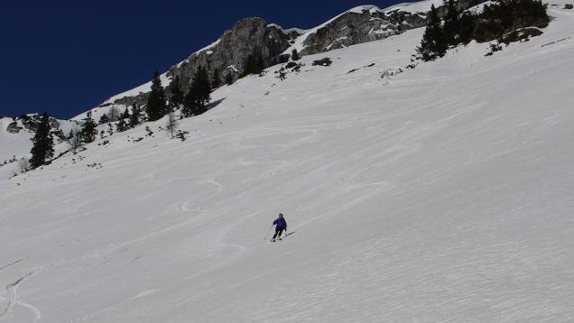 Foto: Manfred Karl / Skitour / Windischkopf über das Gruberkar / 24.03.2014 20:10:53