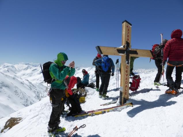 Foto: Manfred Karl / Skitour / Monte Cevedale von Sulden / Am Cevedale / 11.06.2014 19:52:19