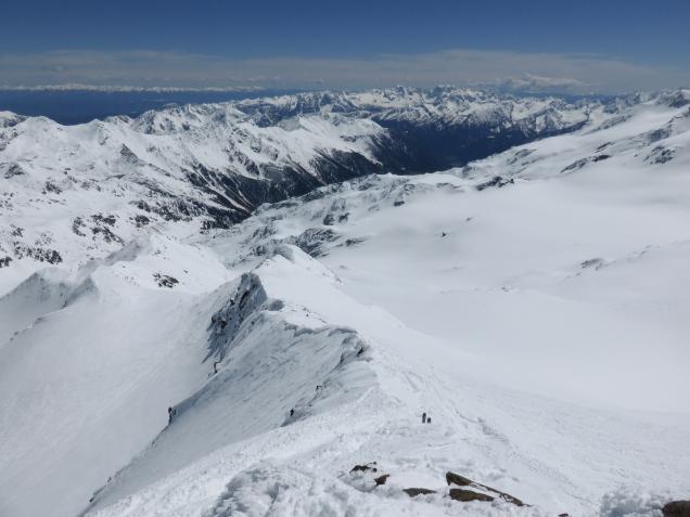 Foto: Manfred Karl / Skitour / Monte Cevedale von Sulden / 11.06.2014 19:51:40