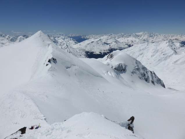 Foto: Manfred Karl / Skitour / Monte Cevedale von Sulden / Links der Cevedale / 11.06.2014 19:51:31