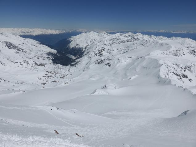 Foto: Manfred Karl / Skitour / Monte Cevedale von Sulden / Martelltal / 11.06.2014 19:51:14