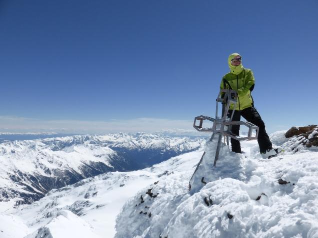 Foto: Manfred Karl / Skitour / Monte Cevedale von Sulden / Zufallspitze / 11.06.2014 19:50:59