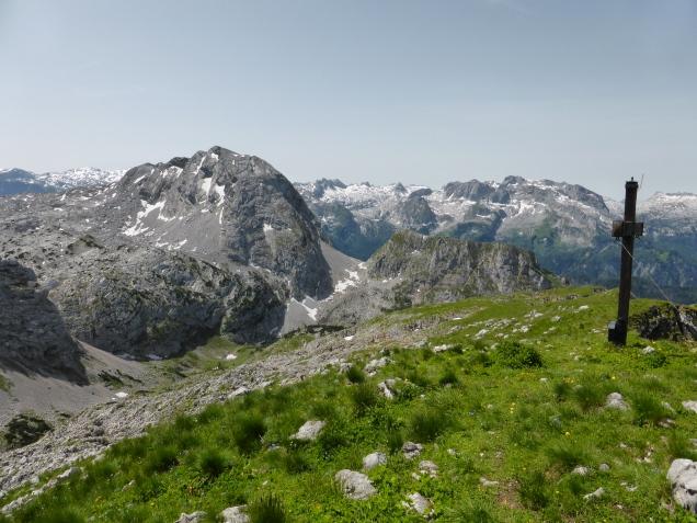 Foto: Manfred Karl / Wandertour / Über die Rotspielscheibe auf den Fagstein / Am Fagstein - Blick zum Kahlersberg / 27.07.2014 21:10:17