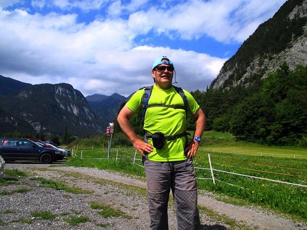 Foto: Andreas Koller / Klettertour / Gamspfeiler im Tiefental (1150m) / 03.09.2014 22:54:39