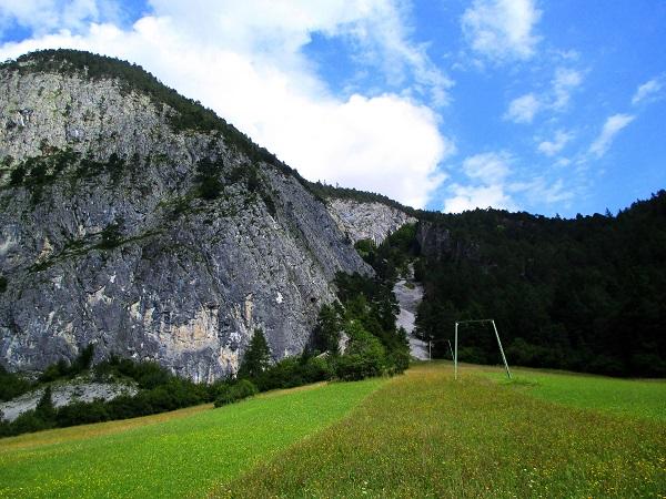 Foto: Andreas Koller / Klettertour / Gamspfeiler im Tiefental (1150m) / 03.09.2014 22:54:29