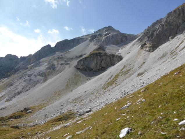 Foto: Manfred Karl / Wandertour / Schliererspitze von Wald / Kleines Mosermandl - im Winter führt der Skianstieg über die langen Schutthänge / 23.11.2014 20:32:46