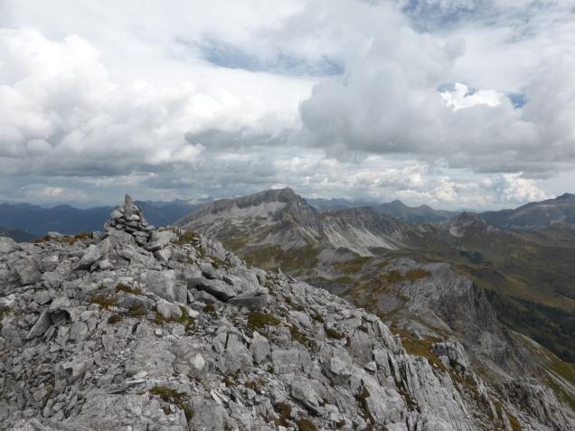 Foto: Manfred Karl / Wandertour / Schliererspitze von Wald / Auf der Schliererspitze / 23.11.2014 20:30:01