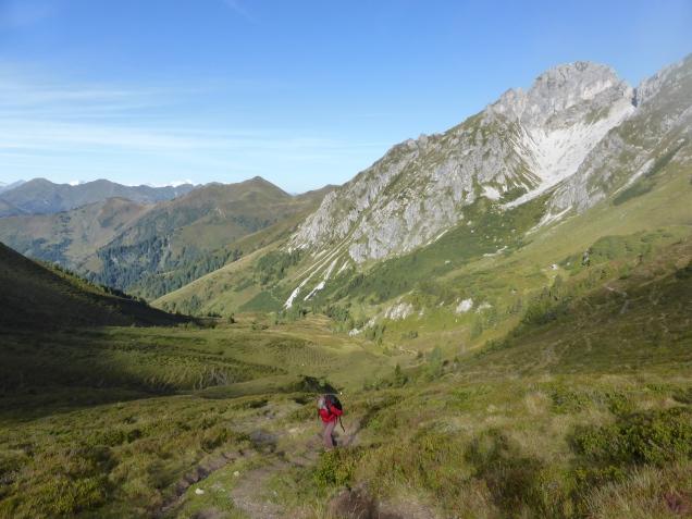 Foto: Manfred Karl / Wandertour / Gipfelreigen rund um die Karteisalm / Blick zum Draugstein / 08.12.2014 19:47:31