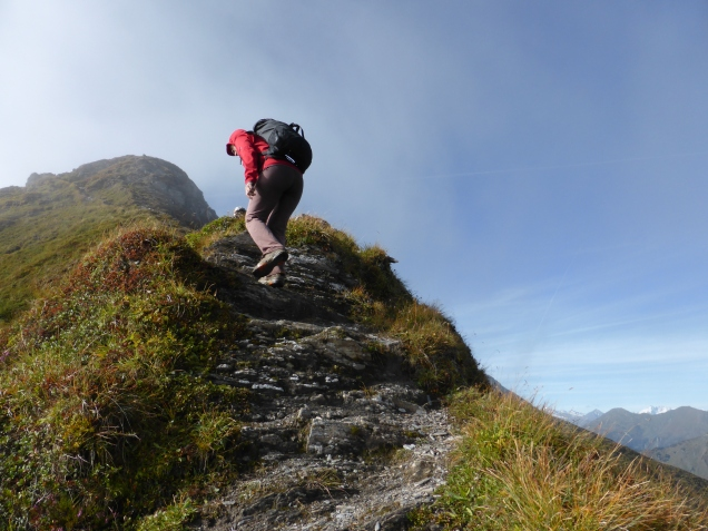 Foto: Manfred Karl / Wandertour / Gipfelreigen rund um die Karteisalm / Karteiskopf Nordostgrat / 08.12.2014 19:46:20