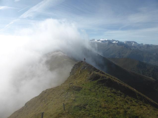 Foto: Manfred Karl / Wandertour / Gipfelreigen rund um die Karteisalm / Gratverbindung Karteiskopf - Gurenstein / 08.12.2014 19:45:03