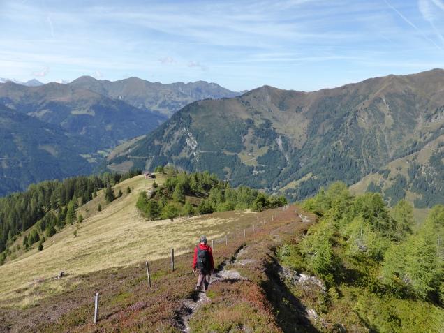 Foto: Manfred Karl / Wandertour / Gipfelreigen rund um die Karteisalm / Abstieg vom Schattleitenkopf / 08.12.2014 19:37:21