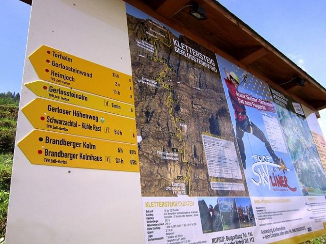 Klettersteig Gerlossteinwand : Actionclub zillertal mayrhofen klettersteig gerlosstein
