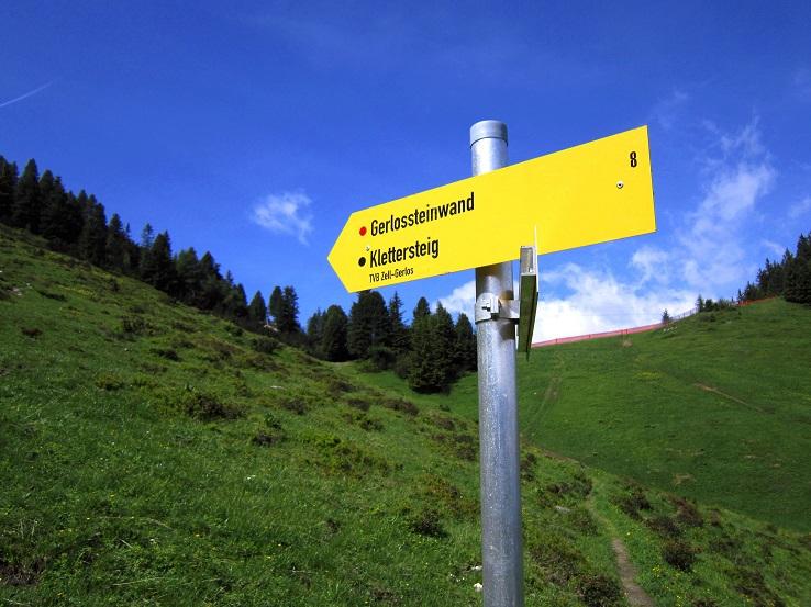 Klettersteig Gerlossteinwand : Gerlosstein klettersteig im zillertal youtube