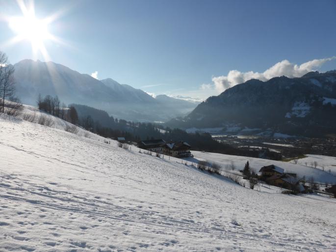 Foto: Manfred Karl / Skitour / Skiroute Hahnbaum von Sankt Johann / 24.01.2015 18:34:40
