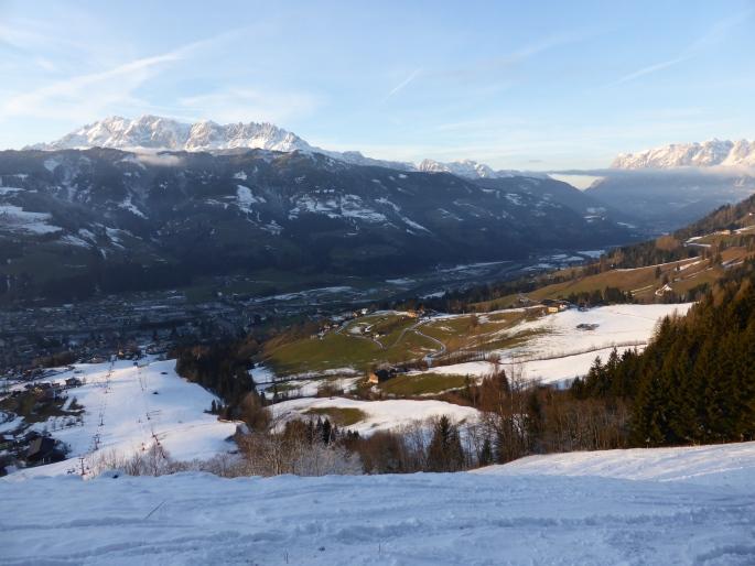 Foto: Manfred Karl / Skitour / Skiroute Hahnbaum von Sankt Johann / Hochkönig und Tennengebirge / 24.01.2015 18:32:03