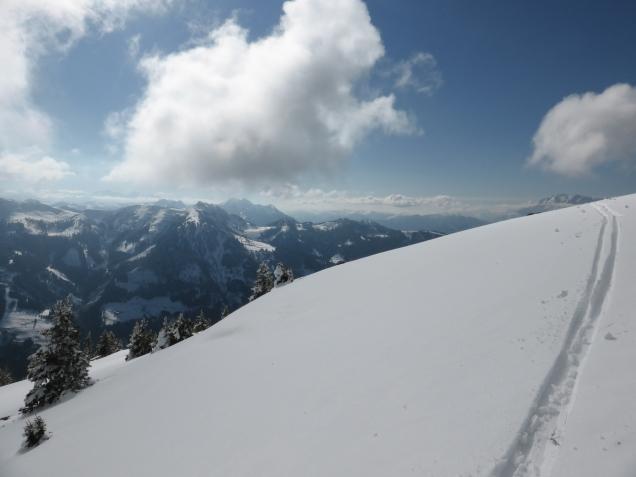 Foto: Manfred Karl / Skitour / Mooskopf von Flachauwinkl / 02.04.2015 19:22:48