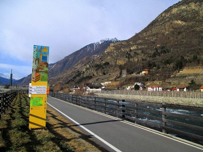 Foto: Andreas Koller / Klettersteigtour / Klettersteig Hoachwool Naturnser Sonnenberg (1200m) / 12.04.2015 18:14:08