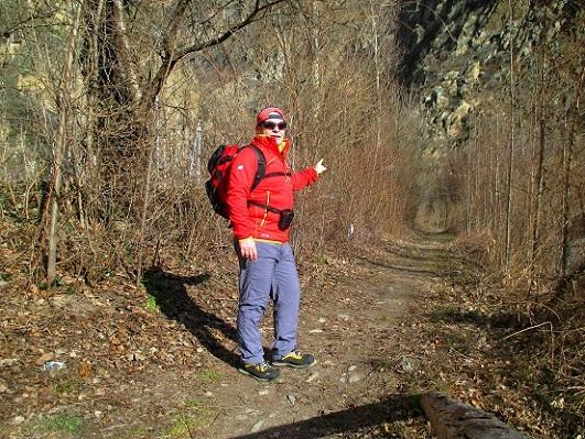 Foto: Andreas Koller / Klettersteigtour / Klettersteig Hoachwool Naturnser Sonnenberg (1200m) / 12.04.2015 18:11:05