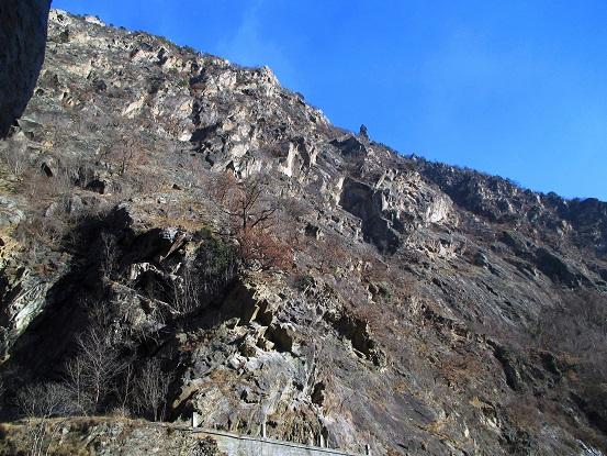 Foto: Andreas Koller / Klettersteigtour / Klettersteig Hoachwool Naturnser Sonnenberg (1200m) / 12.04.2015 18:08:03