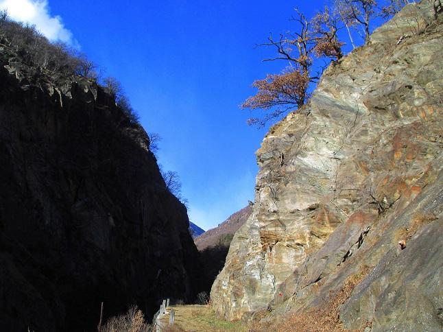 Foto: Andreas Koller / Klettersteigtour / Klettersteig Hoachwool Naturnser Sonnenberg (1200m) / 12.04.2015 18:05:56