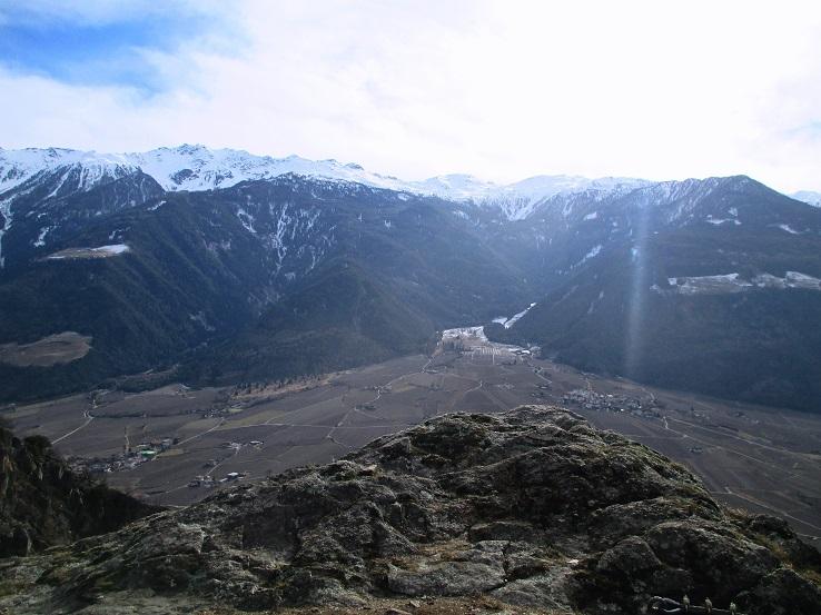 Foto: Andreas Koller / Klettersteigtour / Klettersteig Hoachwool Naturnser Sonnenberg (1200m) / Zum Ausrasten und Schauen / 12.04.2015 18:00:44