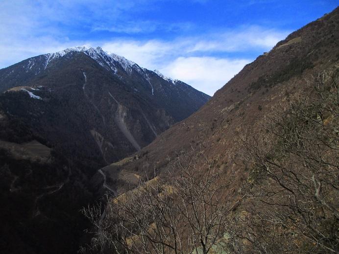 Foto: Andreas Koller / Klettersteigtour / Klettersteig Hoachwool Naturnser Sonnenberg (1200m) / 12.04.2015 18:00:01