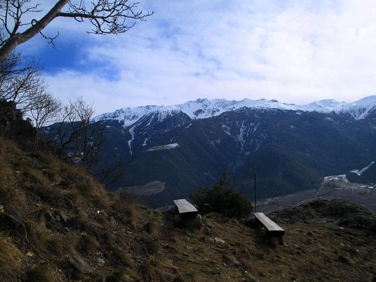 Foto: Andreas Koller / Klettersteigtour / Klettersteig Hoachwool Naturnser Sonnenberg (1200m) / 12.04.2015 17:59:03