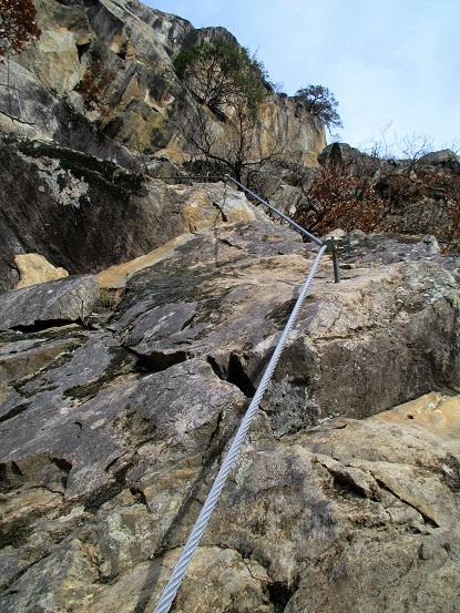 Foto: Andreas Koller / Klettersteigtour / Klettersteig Hoachwool Naturnser Sonnenberg (1200m) / 12.04.2015 17:58:48