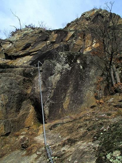 Foto: Andreas Koller / Klettersteigtour / Klettersteig Hoachwool Naturnser Sonnenberg (1200m) / 12.04.2015 17:56:54