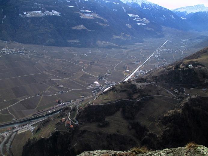 Foto: Andreas Koller / Klettersteigtour / Klettersteig Hoachwool Naturnser Sonnenberg (1200m) / 12.04.2015 17:52:42