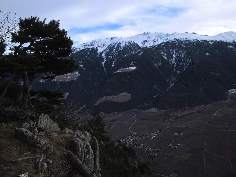 Foto: Andreas Koller / Klettersteigtour / Klettersteig Hoachwool Naturnser Sonnenberg (1200m) / 12.04.2015 17:51:10