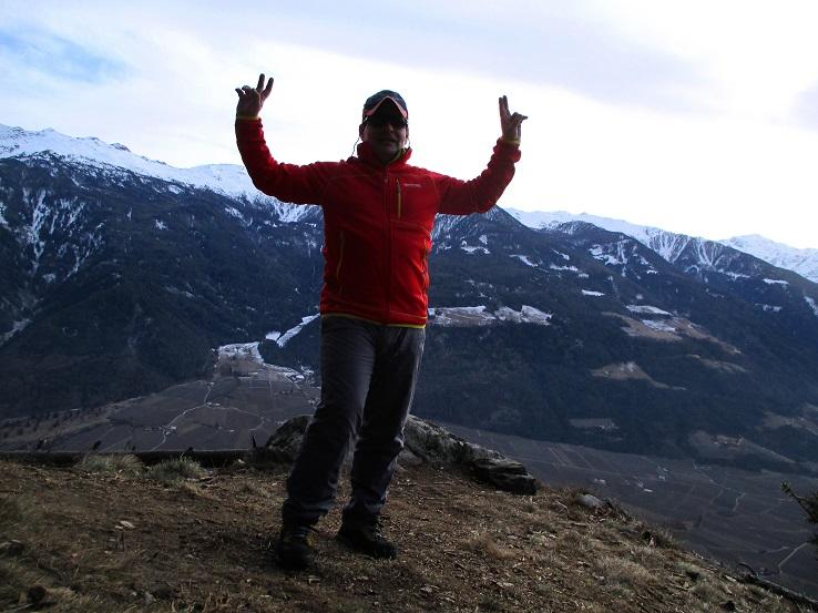 Foto: Andreas Koller / Klettersteigtour / Klettersteig Hoachwool Naturnser Sonnenberg (1200m) / 12.04.2015 17:50:13
