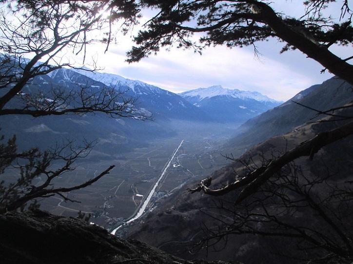 Foto: Andreas Koller / Klettersteigtour / Klettersteig Hoachwool Naturnser Sonnenberg (1200m) / 12.04.2015 17:48:46