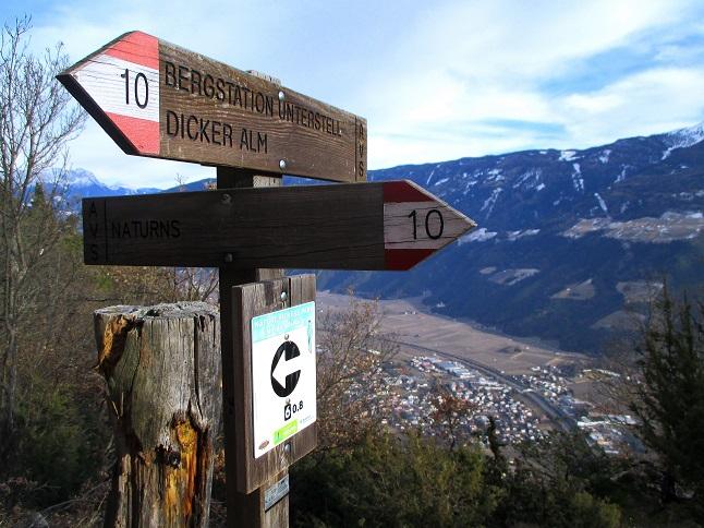 Foto: Andreas Koller / Klettersteigtour / Klettersteig Hoachwool Naturnser Sonnenberg (1200m) / 12.04.2015 17:48:25